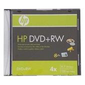 DVD+RW 4.7GB 120 MIN 4X SLIM HP