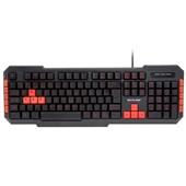 Teclado Gamer Red Keys Multimídia USB Preto TC160 1 UN Multilaser
