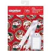 Kit Saco para Presente Autosserviço Clip Strip 35x54cm 1 UN Cromus