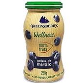 Geleia Light 100% Blueberry 250g 1 UN Queensberry