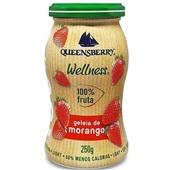Geleia Light 100% Morango 250g 1 UN Queensberry