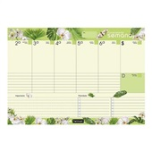 Smart Planner Semanal Tropical Vibe Natural 36FL Chies