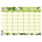 Smart Planner Mensal Tropical Vibe Natural Chies
