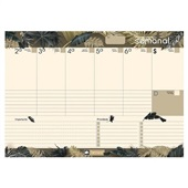 Smart Planner Semanal Tropical Vibe Deluxe 36 FL Chies
