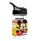 Garrafa com Canudo 350ml Mickey 1 UN Dermiwil