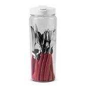 Faqueiro Itaparica Vermelho 20 Peças 1 UN Brinox