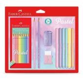 Lápis de Cor 10 Cores Faber Castell