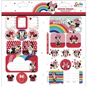 Adesivos Decorados Duplo Minnie Grafon's Tilibra