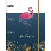 Caderno Argolado Cartonado Universitário com Elástico 80 FL Aloha 1 UN
