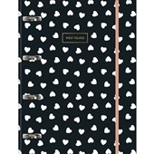 Caderno Argolado Cartonado Universitário com Elástico 80 FL West Village 1 UN Tilibra
