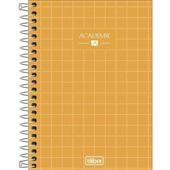 Caderneta Espiral Capa Dura 1/8 80 FL Academie E 1 UN Tilibra
