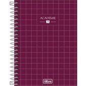 Caderneta Espiral Capa Dura 1/8 80 FL Academie G 1 UN Tilibra