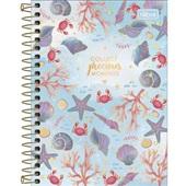 Caderneta Espiral Capa Dura 1/8 80 FL Bubble C 1 UN Tilibra