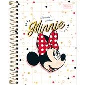 Caderno Espiral Capa Dura 1/4 80 FL Minnie B 1 UN Tilibra