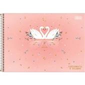 Caderno Cartografia e Desenho Capa Dura 80 FL Royal B 1 UN Tilibra