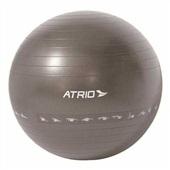 Bola de Ginastica Premium 65cm PVC Cinza ES216 1 UN Atrio