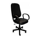 Cadeira Presidente Corvim Preta C/B Inove Flex