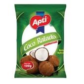 Coco Ralado Desidratado Sem Açúcar 100g Apti