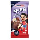 Bolinho Chocolate Com Recheio de Baunilha 70g Seven Boys