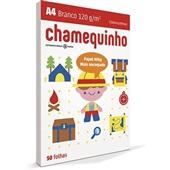Papel Sulfite Chamequinho Branco 120g A4 21x29,7cm 50 FL Chamex