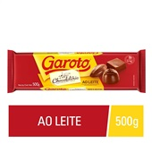 Barra de Chocolate ao Leite 500g Garoto