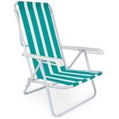 Cadeira Reclinável 4 Posições Aço Estampa 4 Mor
