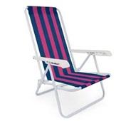 Cadeira Reclinável 4 Posições Aço Estampa  3 Mor