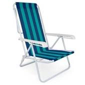 Cadeira Reclinável 4 Posições Aço Estampa 1 Mor