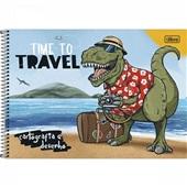 Caderno Cartografia e Desenho Capa Dura 80 FL Raptor A 1 UN Tilibra
