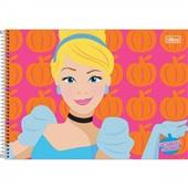 Caderno Cartografia e Desenho Capa Dura 80 FL Princesas A 1 UN Tilibra