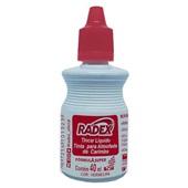 Tinta para Carimbo Vermelho 40ml 1 UN Radex