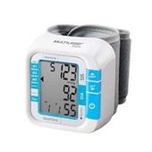 Monitor de Pressão Arterial de Pulso HC204 Branco 1UN Multilaser