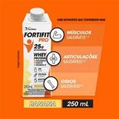 Bebida Láctea UHT Banana 250ml 1 UN FortiFit