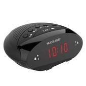 Rádio Relógio SP352 1 UN Multilaser