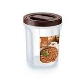 Pote Acoplado com Rosca para Mantimentos Feijão 2L 1 UN Nitron