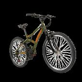 Bicicleta Max Front Aro 24 Verde 1 UN Caloi