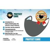 Máscara Adulto Cinza 1 UN Protect Care