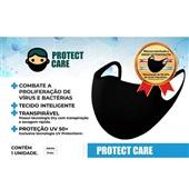 Máscara Adulto Preta 1 UN Protect Care