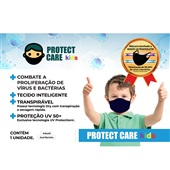 Máscara Infantil Azul 1UN Protect Care