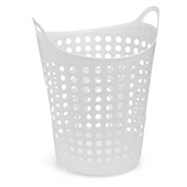 Cesto de Roupas Multiuso Flexível Branco 48x54,5cm 1 UN Arthi