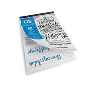 Bloco de Exercícios Lettering A4 180g 28 Folhas Cis