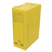 Arquivo Morto Polionda Oficio 360x135x250mm Amarelo 1 UN Dello