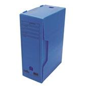 Arquivo Morto Polionda Oficio 360x135x250mm Azul 1 UN Dello