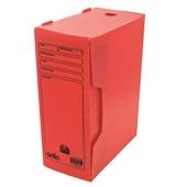 Arquivo Morto Polionda Oficio 360x135x250mm Vermelho 1 UN Dello