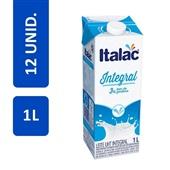 Leite UHT Integral Longa Vida 1L CX 12 UN Italac