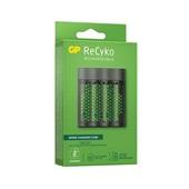 Carregador de Pilhas USB Recyko 4 Pilhas AA 2600mAh 1 UN GP