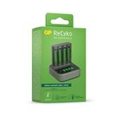 Carregador de Pilhas USB Recyko com Dock Station 4 Pilhas AAA 950mAh 1 UN GP