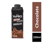 Bebida Láctea 25g High Protein Sabor Chocolate 250ml 1 UN Yopro