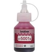 Garrafa de Tinta Magenta BT5001m Compatível com MFCT4500 DCPT420W 720DW 820DW 5,0k 48,8ml Brother