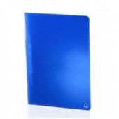 Pasta Ofício com Grampo Plástico 340x245mm Azul 1 UN Plascony